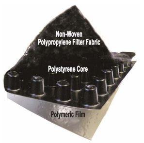 Polyguard Products Polyflow 15 P Drainage Mat 5180200