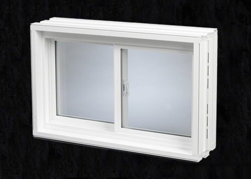 Monarch premier v v200 10 wall pvc welded 3 4 for Monarch basement windows