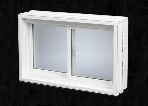 Monarch premier v v300 10 wall pvc welded 3 4 for Monarch basement windows