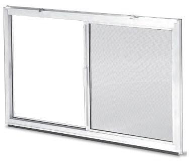 Monarch c 2000 aluminum slider insert bucko frame size for Monarch basement windows