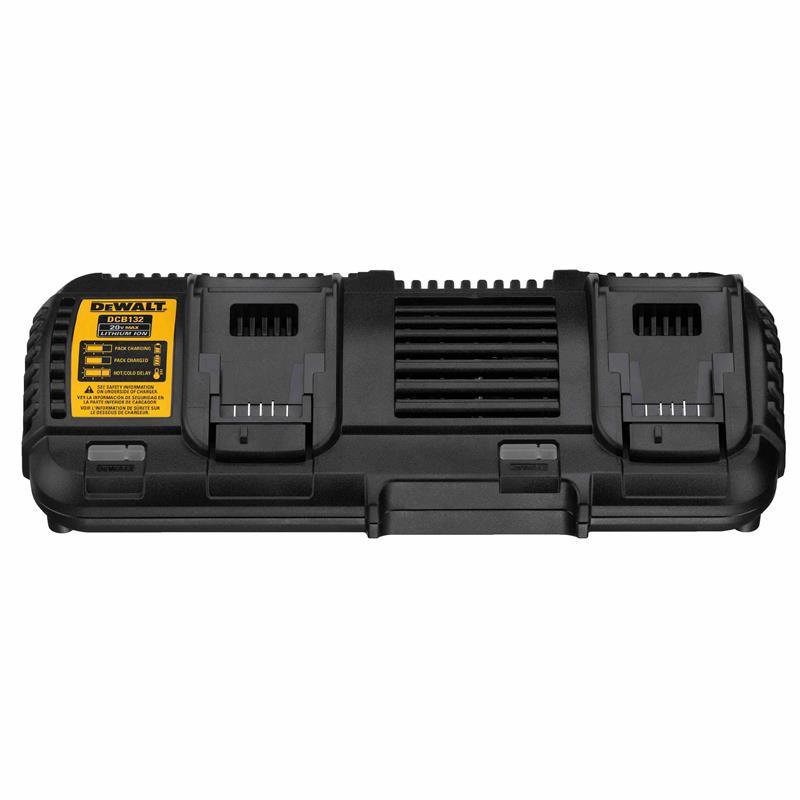 dewalt 20v max charger. dewalt. the dcb132 is a dual port charger that included in 120v max kits. it charges 20v batteries and new 20v/60v battery. dewalt 20v max o