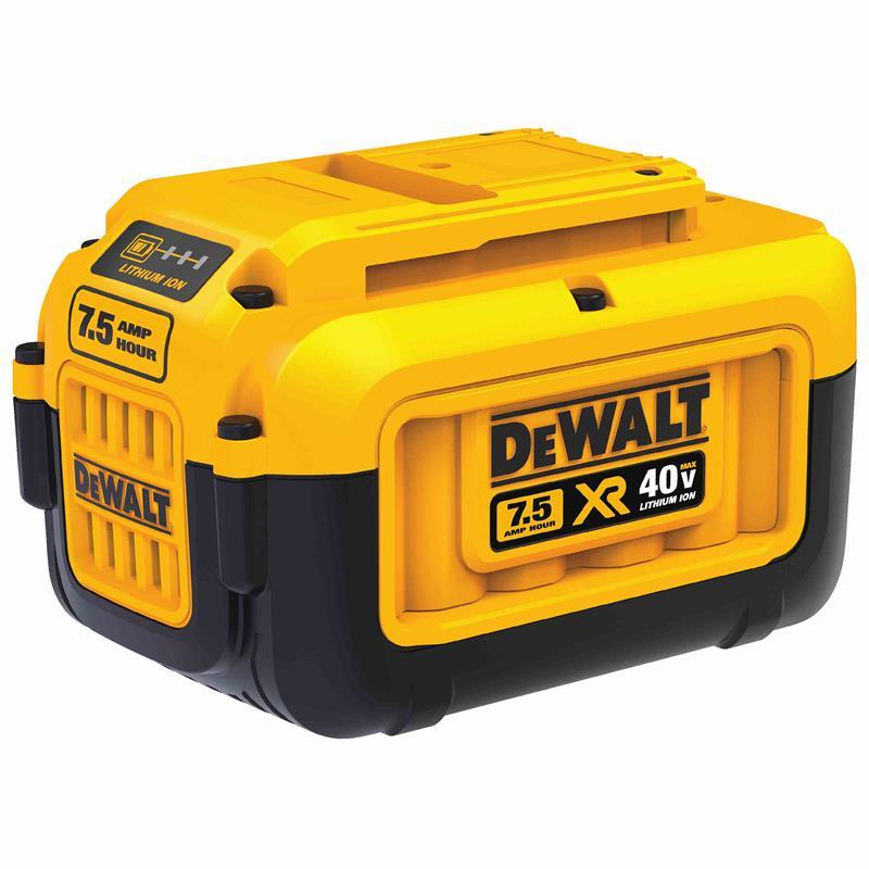 Vagabond Mini Strobe Battery Pack Rental: Dewalt DCB407 40v Max Premium Xr Lithium Ion Battery Pack